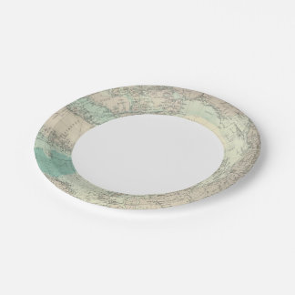 North Polar regions Paper Plate