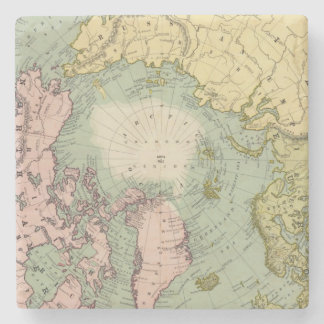 North Polar Regions Stone Coaster