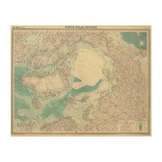 North Polar regions Wood Print