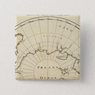 North Pole 15 Cm Square Badge