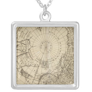 North Pole 2 Silver Plated Necklace