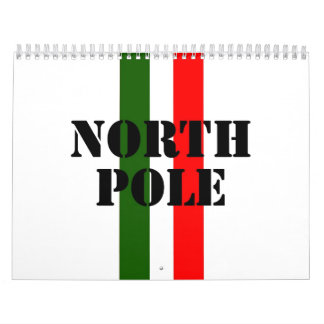 North Pole Wall Calendars