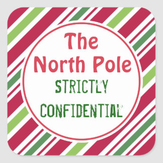 North Pole Christmas Confidential Gift Tags