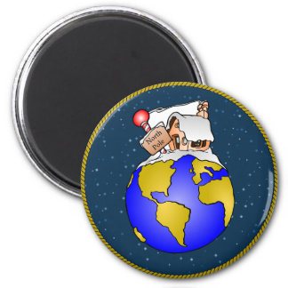 North Pole Christmas Magnet