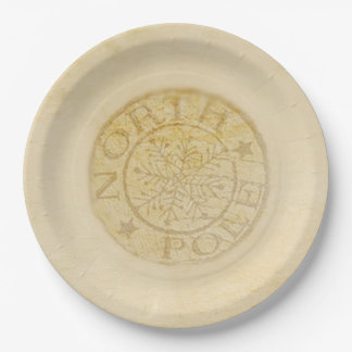 North Pole Christmas Party Paper Plates