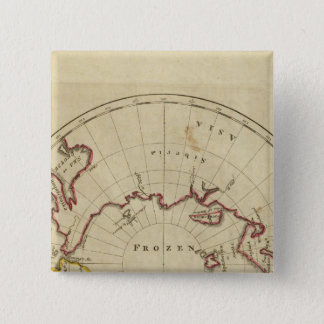 North Pole countries 15 Cm Square Badge