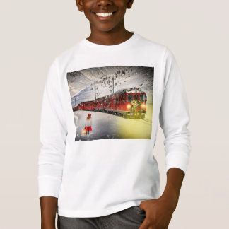 North pole express - christmas train - santa train T-Shirt