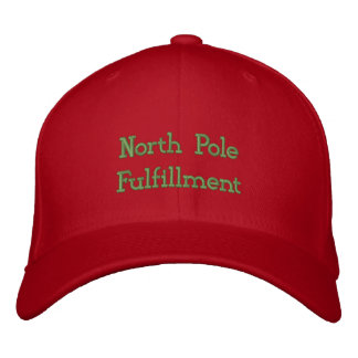 North Pole Fulfillment Center Embroidered Hats