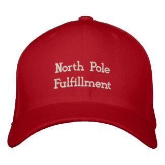 North Pole Fulfillment Center Embroidered Cap