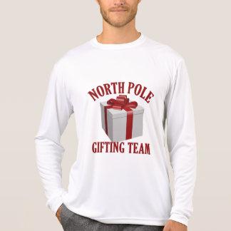 North Pole Gifting Team custom clothing T-Shirt