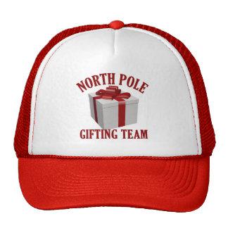 North Pole Gifting Team hat