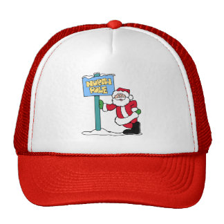 North Pole Trucker Hats
