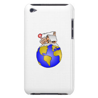 North Pole Home of Santa iPod Touch Case-Mate Case
