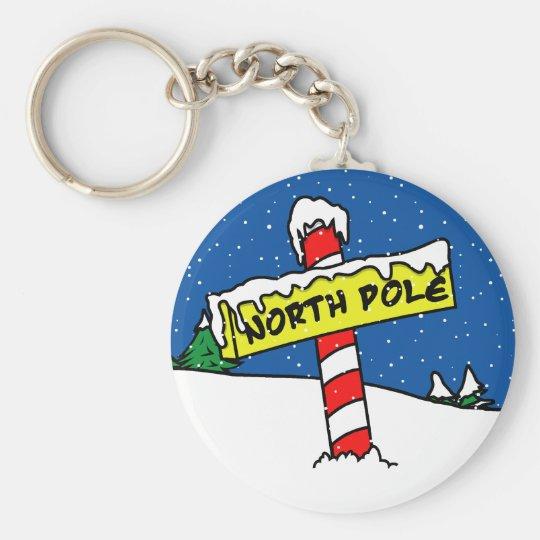 North Pole Keychain