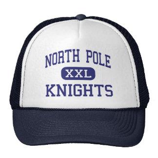 North Pole Knights Middle North Pole Alaska Trucker Hats