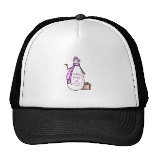 NORTH POLE OR MELT! TRUCKER HAT