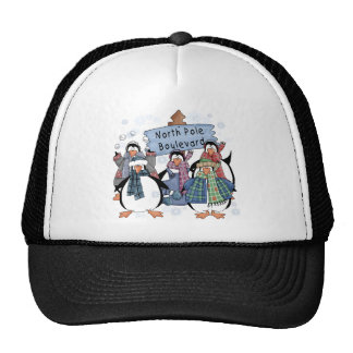 North Pole Penguins Tshirts and gifts Hats