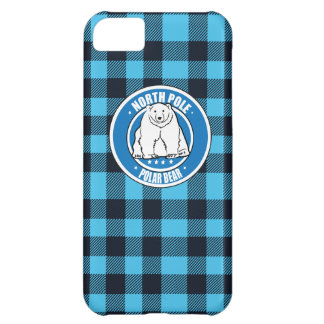 North pole polar bear iPhone 5C cases