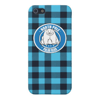 North pole polar bear cover for iPhone 5/5S
