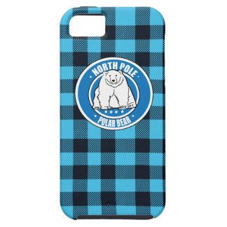 North pole polar bear iPhone 5 case
