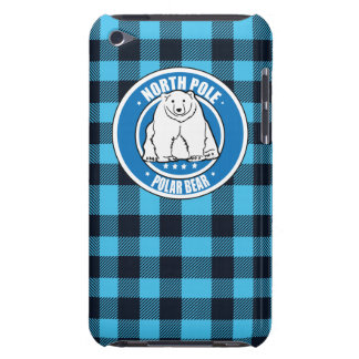 North pole polar bear iPod touch case