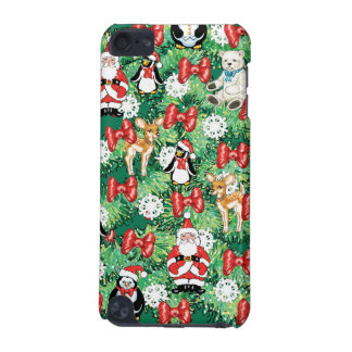 North Pole Themed Mini Ornaments on Christmas Tree iPod Touch 5G Cases
