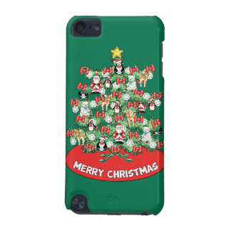 North Pole Themed Mini Ornaments on Christmas Tree iPod Touch (5th Generation) Case