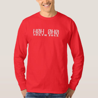 North Pole Zip Code Long Sleeve T-Shirt