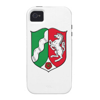 North Rhine Westphalia Germany Coat of Arms iPhone 4/4S Case