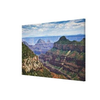North Rim Gran Canyon - Grand Canyon National Gallery Wrap Canvas