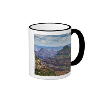 North Rim Gran Canyon - Grand Canyon National Ringer Coffee Mug