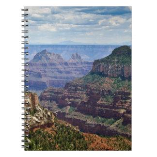 North Rim Gran Canyon - Grand Canyon National Spiral Note Books