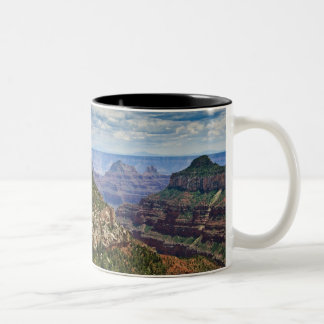 North Rim Gran Canyon - Grand Canyon National Two-Tone Coffee Mug