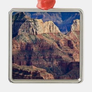 North Rim Grand Canyon - Grand Canyon National Silver-Colored Square Decoration