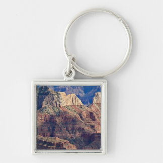 North Rim Grand Canyon - Grand Canyon National Silver-Colored Square Key Ring