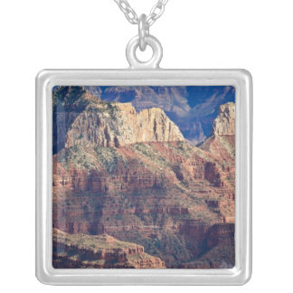 North Rim Grand Canyon - Grand Canyon National Square Pendant Necklace