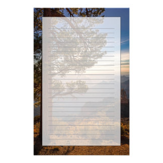 North Rim Sunrise Personalized Stationery