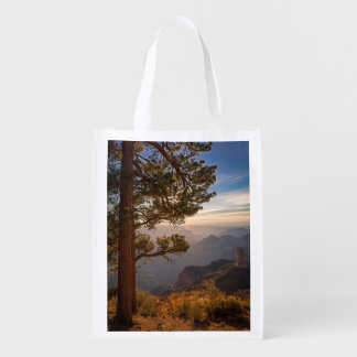 North Rim Sunrise Reusable Grocery Bag