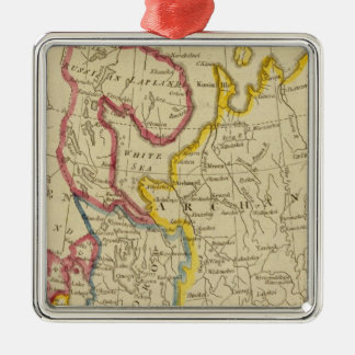 North Russia in Europe Christmas Ornament
