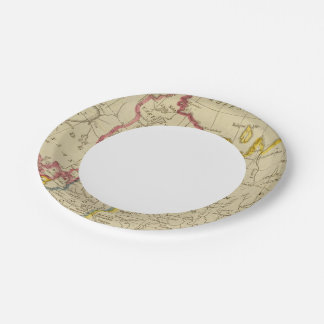 North Russia in Europe Paper Plate