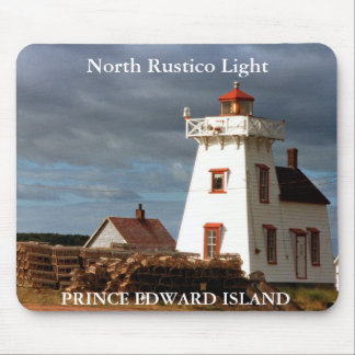 North Rustico Light, Prince Edward Island Mousepad