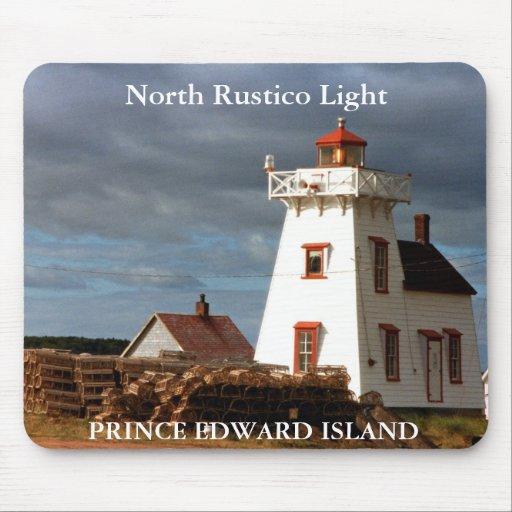 North Rustico Light, Prince Edward Island Mousepad