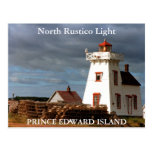 North Rustico Light, Prince Edward Island Postcard