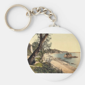North sands, Tenby, Wales rare Photochrom Key Ring