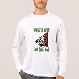 North Sea Tiger Oil Field T-Shirt Apparel Oil Rig