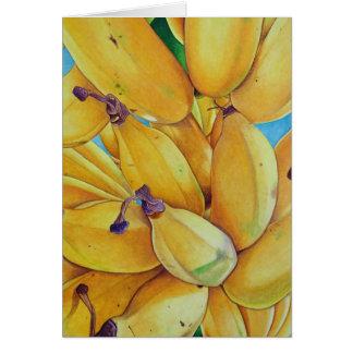 North Shore Bananas Card