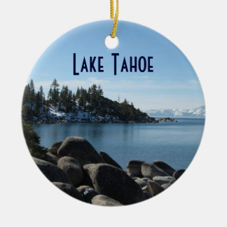 North Shore Lake Tahoe, Incline Village, Nevada Christmas Ornament