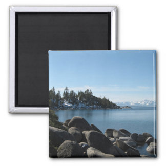 North Shore Lake Tahoe, Incline Village, Nevada Square Magnet