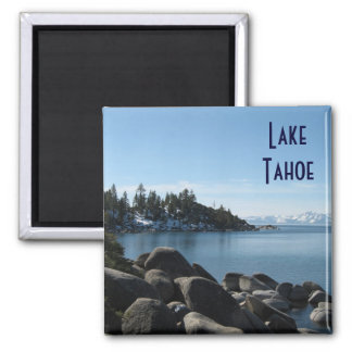 North Shore Lake Tahoe, Incline Village, Nevada Square Magnet