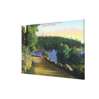 North Shore Marine Drive View of Garrow Bay Canvas Print
